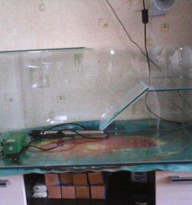террариум для водоплавающих черепах