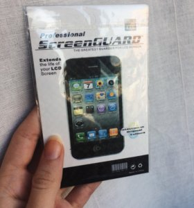 Плёнка iPhone 3
