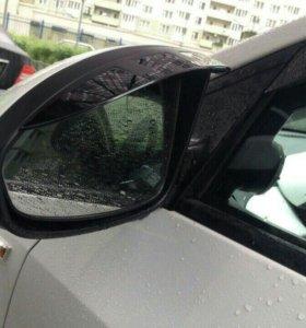 Козырьки на зеркала Шевроле Круз