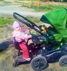 Подставка для 2 ребенка для коляски