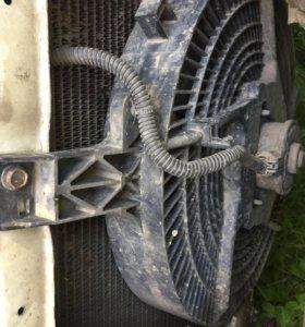 вентилятор радиатора кондиционера skyline r34
