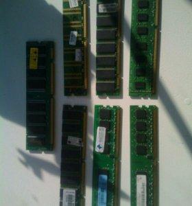 Продам оперативную память DDR 3 на 2 гига