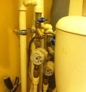 Сварка ПВХ водопроводных труб