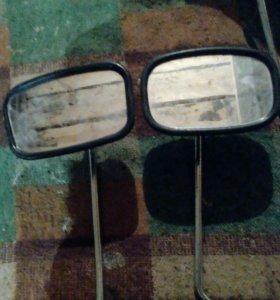 Зеркала на мото.