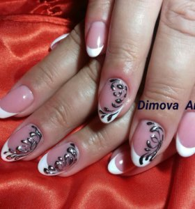 Наращивание ногтей......)))))