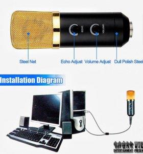 Студийный конденсаторный микрофон USB №3
