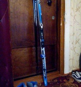 Nordway junior лыжи пластиковые