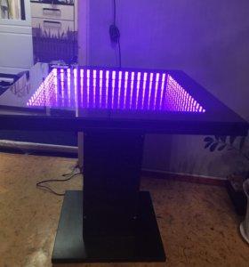 Продам стол с подсветкой с пультом