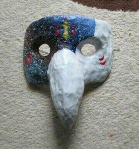 Карнавальная маска: Ёкай птица