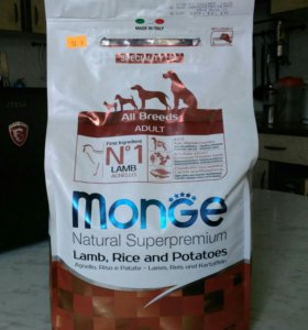 Сухой корм Monge 2,5 кг., суперпремиум