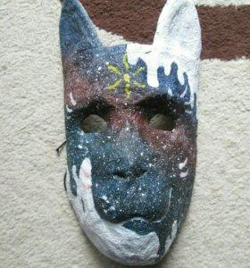 Карнавальная маска: Ёкай кот