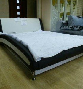 Кровать с подъемным мех. и бельевым ящиком
