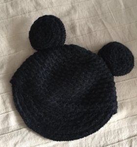 Шапка-кепка с ушками