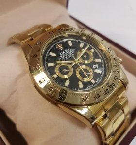 Часы Rolex gold сталь