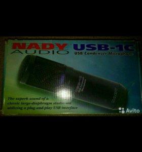 микрофон nady audio usb-1c