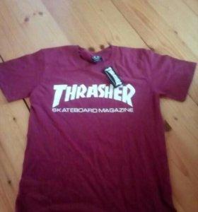 Thrasher одежда майка футболка