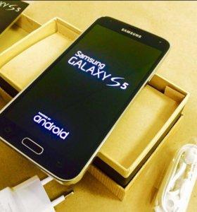 Новый Samsung Galaxy S5 16g черный