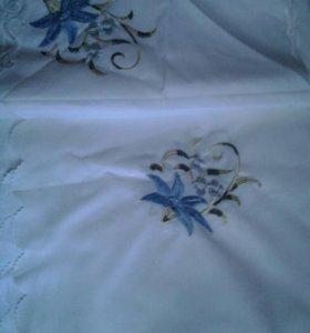 Новая скатерть с салфетками