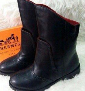 Ботинки новые Hermes
