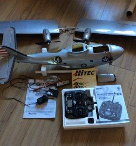 Радиоуправляемая модель самолета-амфибии