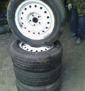 Колеса с дисками для ГАЗ 3110