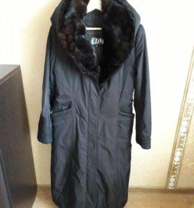 Зимнее  пальто 46-48-50