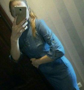 Продам новую рубашку платье