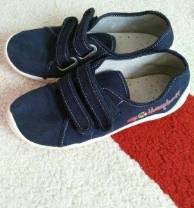 Ботинки тканевые в школу, 35 р-р