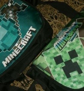 Две сумки Minecraft