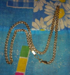Золотая цепочка 50 см. 15.97 грамм