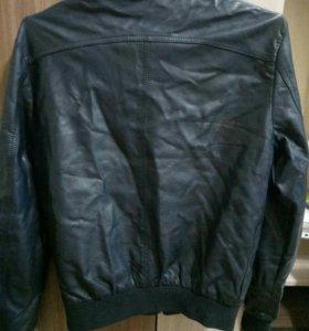 Куртка из кожа заменителя мужская