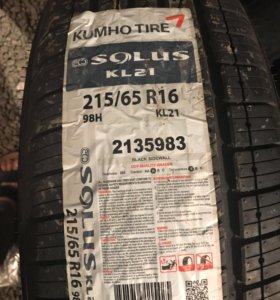 шины solus kl21 215 65 r16