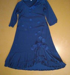 Нарядный Костюм блуза+юбка