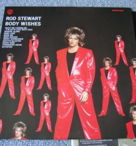 "Rod Stewart""Body Wishes"" NM/M"