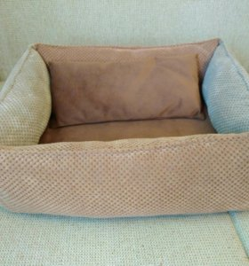 Лежак ручной работы для кошки или собаки