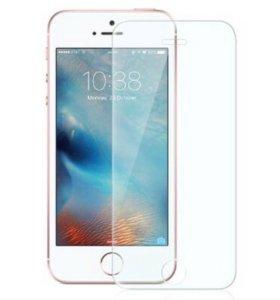 Защитные стекла на IPhone 5/5S/SE/6/6S/7