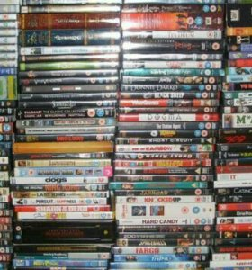 DVD диски 300 шт