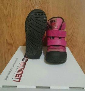 Ботинки детские зимние Minimen цвет фуксия