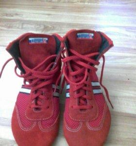 Борцовки красные 36 размер