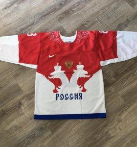 Свитер сборной России по хоккею