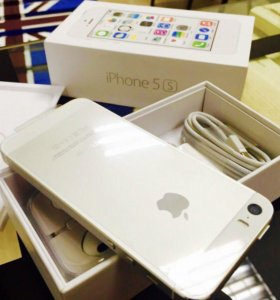 Apple iPhone 5s 32gb silver новый