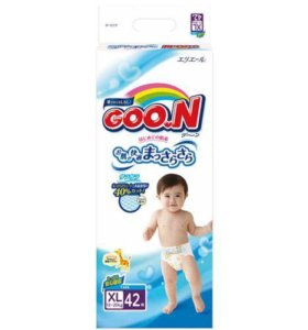 Подгузники Goon 62 шт xl (12-20кг)