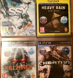 Игры на PS3 (4шт). Так же продаю по отдельности