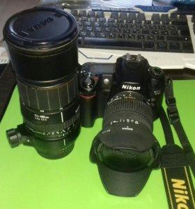 Фотоаппарат Nikon D80 + 2 объектива