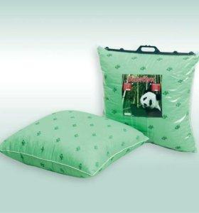 Подушки и одеяла бамбук