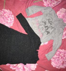 Платье водолазка свитер