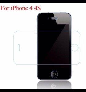 Защитные стекла на iphone 4/4s/5/5s/5c/6/6s/6plus