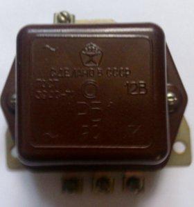 Реле РБ-1, 12В, ГОСТ 3940-71, новое, пр-ва СССР
