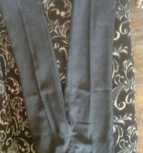 Школьные брюки т.серые