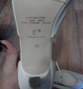туфли совершенно новые